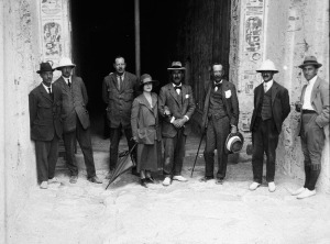 Carter, Carnarvon, & Team Outside Tut's Tomb